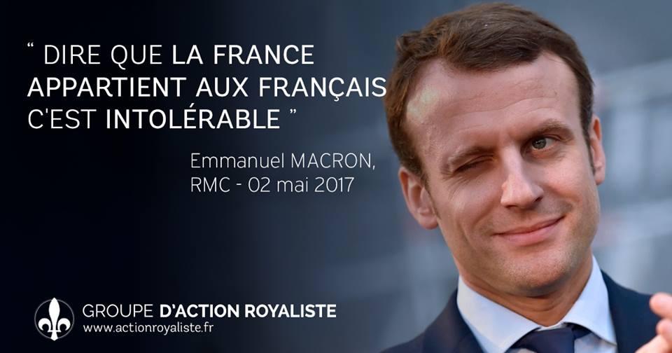 L'enseignement du vote « Macron » :