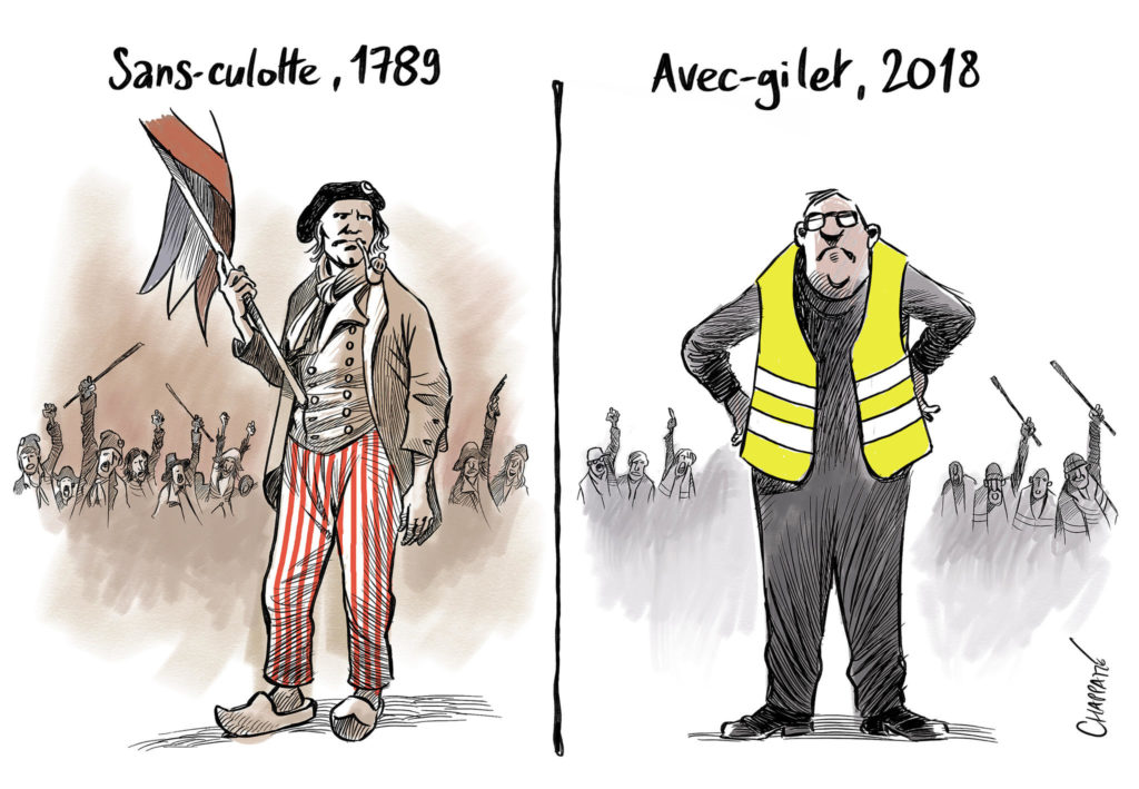 Les gilets jaunes : révolte ou révolution ? :