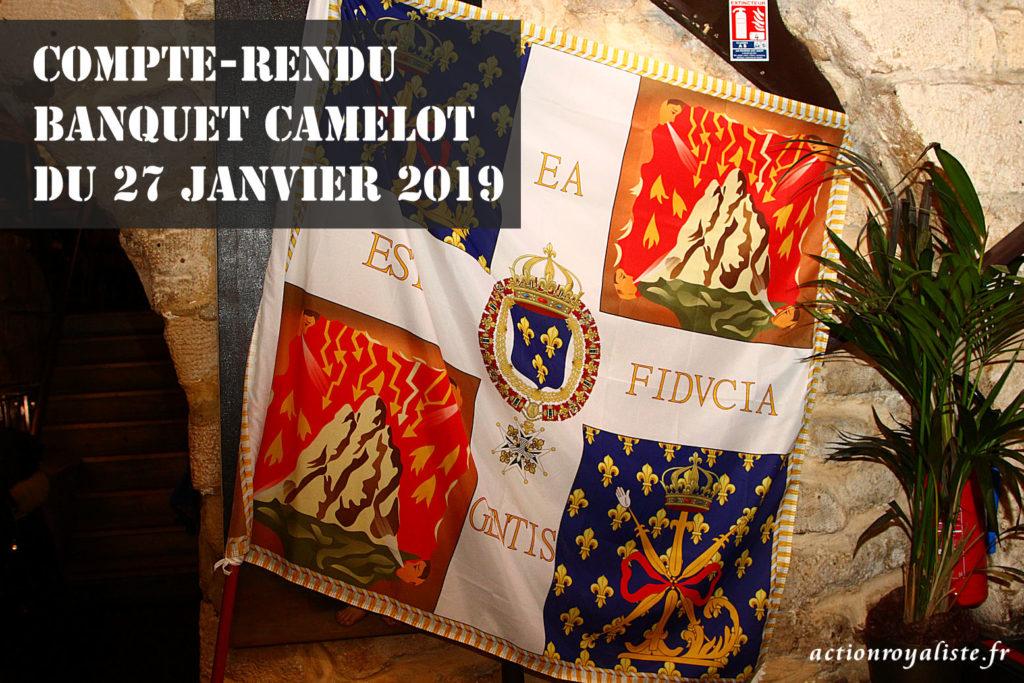 Compte-rendu du banquet Camelot du 27 janvier 2019 :