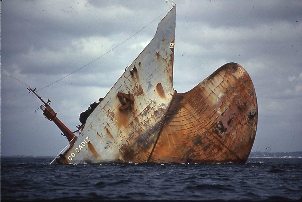 41 ans après l'Amoco Cadiz, encore la menace de la marée noire :
