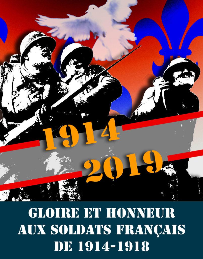Gloire aux Poilus de 1914-1918 :