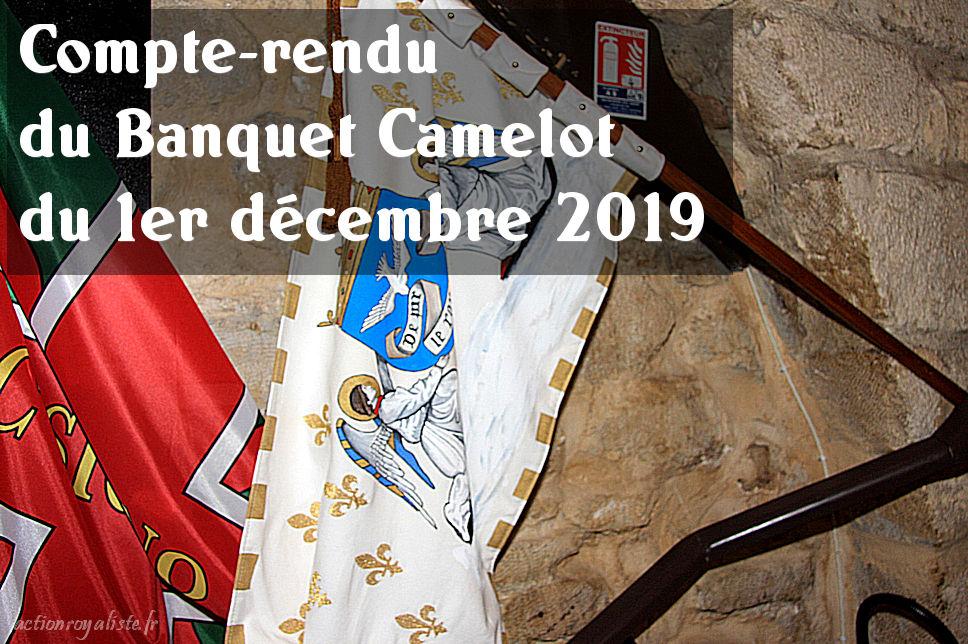 Compte-rendu du banquet Camelot du 1er décembre 2019 :